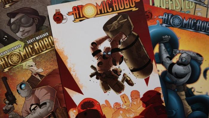 Pi Day Review: AtomicRobo!
