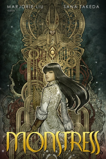 Monstress Issue 1 Cover
